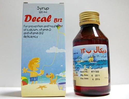 شراب ديكال ب12 لتقوية العظام ويقي من الإصابة بهشاشة العظام Decal B12