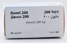 كبسولات دانول لعلاج اورام بطانة الرحم ومرض الثدي الكيسي الليفي Danol