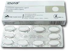 Photo of اقراص رونال لعلاج الأم الخفيف إلى المعتدل والحمى والالتهابات المختلفة Rhonal