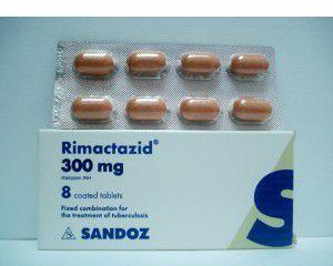 اقراص ريماكتازيد مضاد حيوي لعلاج التهاب المعدة وعلاج جرثومة السل Rimactazid