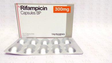كبسولات ريفامبيسين مضاد حيوي لعلاج مرض السل والتهاب السحايا Rifampicin
