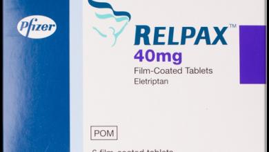 Photo of اقراص ريلباكس لعلاج الصداع النصفي الحاد مع أو بدون هالة Relpax