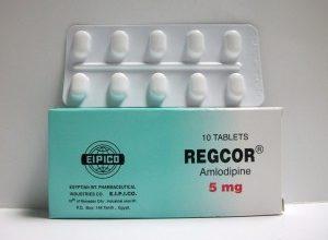 اقراص ريجكور لعلاج ارتفاع ضغط الدم والذبحه الصدريه Regcor