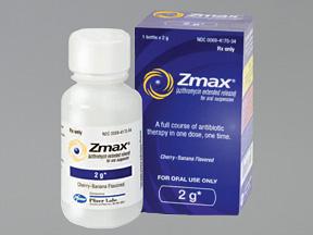 شراب زماكس مضاد حيوي لعلاج بعض الالتهابات البكتيرية ZMAX
