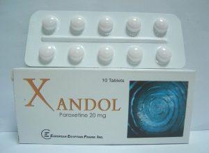اقراص زاندول المحسن للمزاج و المزيل للاكتئاب والامراض النفسية XANDOL