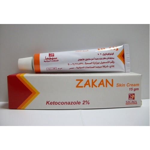 كريم زاكان لعلاج الفطريات التى تصيب فروة الرأس والتينيا ZAKAN