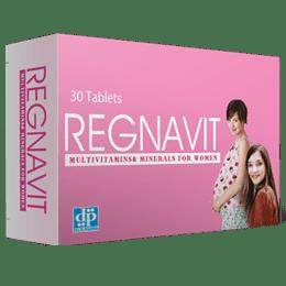 اقراص ريجنافيت الفيتامينات والمعادن أثناء الحمل مقوى عام للجسم Regnavit