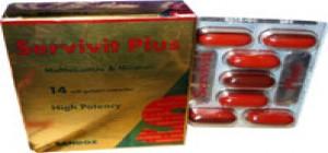 كبسولات سيرفيفيت بلس الفيتامينات والمعادن والعناصر الازمة للجسم Servivit plus