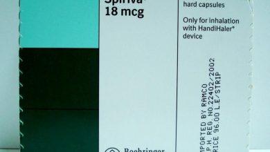 دواء سبيريفا لعلاج الانسداد الرئوي لدى مرضى التهاب الجهاز التنفسي Spiriva