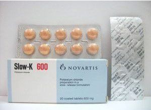 Photo of اقراص سلو كي للعلاج والوقاية من نقص بوتاسيوم الدم slow k