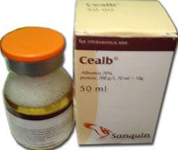 حقن سيلب لزيادة حجم البلازما و الحفاظ على النتاج القلبي Cealb