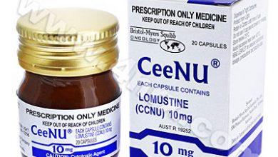 كبسولات سينو لعلاج اورام الدماغ وسرطان الجلد والرئة والقولون CeeNu
