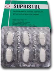 دواء سوبريستول لعلاج التهابات الجهاز التنفسي و الجهاز البولي Supristol