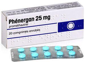 دواء فينيرجان للتخفيف من اعراض الحساسية مثل حساسية الأنف Phenergan