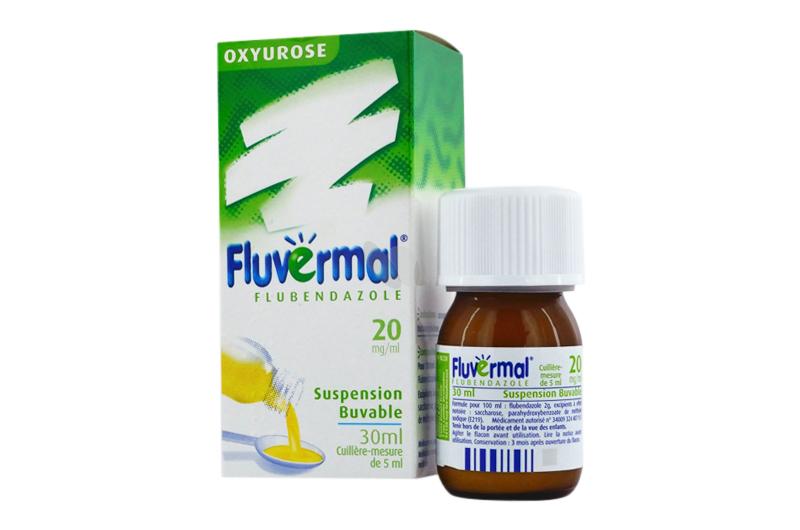 دواء فلوفيرمال لعلاج ديدان الأكسيورس والاسكارس والانكلوستوما Fluvermal