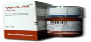 دواء فيرم اوول لعلاج الديدان الخيطية و الديدان المثقوبة والديدان الشريطية Verm All