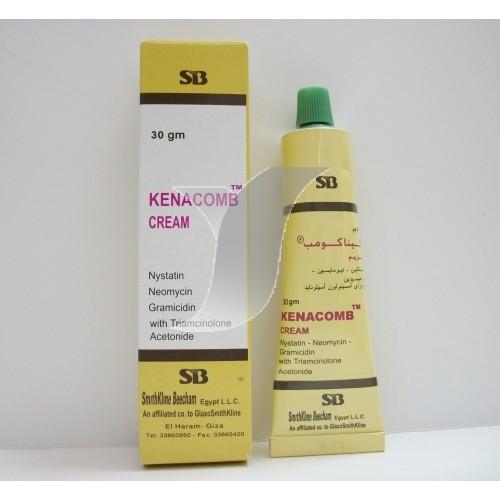 كيناكومب علاج موضعي لحالات العدوي البكتيريه للجلد وحالات التسلخات
