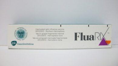 لقاح فلواريكس للوقاية من الإصابة بفيروس الانفلونزا Fluarix