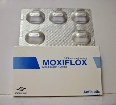 اقراص موكسيفلوكس MOXIFLOX لعلاج حالات العدوي البكتيريه