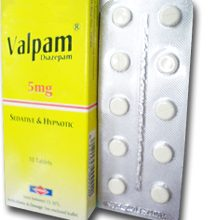 دواء فالبام لعلاج اعراض سحب ادمان الكحول من الجسم ونوبات الصرع VALPAM