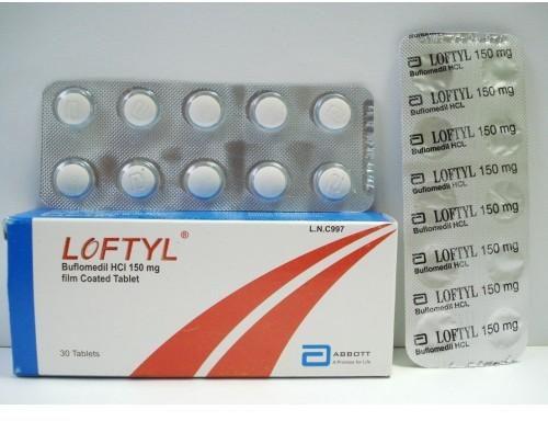 حبوب لوفتيل Loftyl لعلاج اضطرابات الدورة الدموية المخية والطرفية