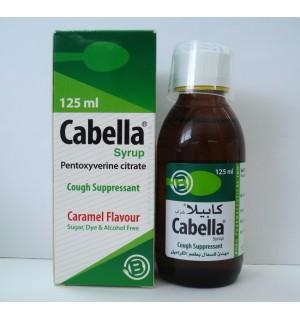 كابيلا شراب مهدئ للسعال ويخفف من الكحة الجافة Cabella