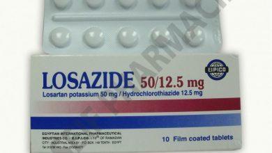 Photo of حبوب لوزازيد LOSAZIDE لعلاج ارتفاع ضغط الدم وفشل القلب
