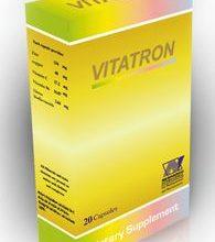 صورة كبسولات فيتاترون يمد الجسم بالفيتامينات و المعادن و العناصر الهامة VITATRON