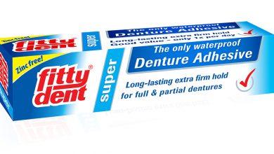 لاصق الاسنان فيتي دنت مادة لاصقة مقاومة للماء Fitty dent