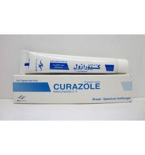 كريم كيورازول لعلاج الفطريات والالتهابات الجلدية Curazole