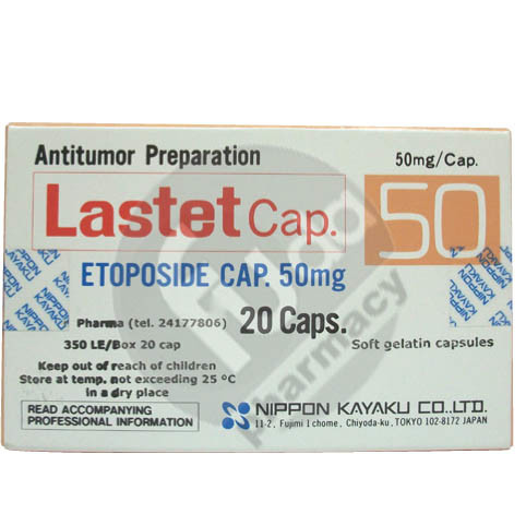 دواء لاستيت Lastet لعلاج سرطان الرئة وسرطان الخصية