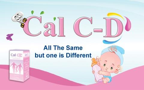 شراب كال سي دي Cal C-D لحالات نقص الكالسيوم وتقوية عظام الاطفال