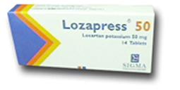 لوزابريس lozapress اقراص لعلاج ارتفاع ضغط الدم وامراض الكلي