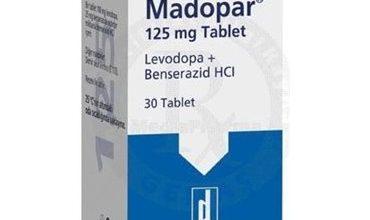 اقراص مادوبار Madopar لعلاج الشلل الرعاش مرض باركنسون