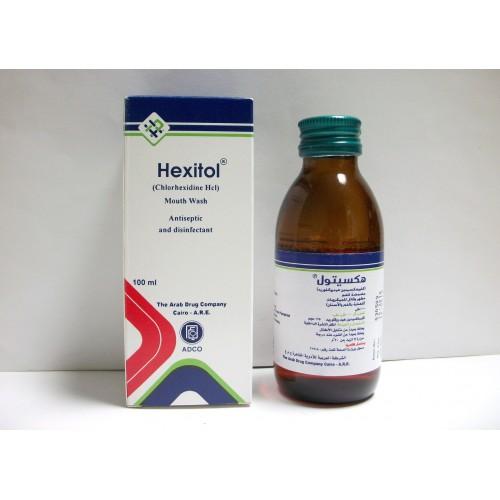 غسول فم هيكسيتول HEXITOL مضمضة مطهرة للفم