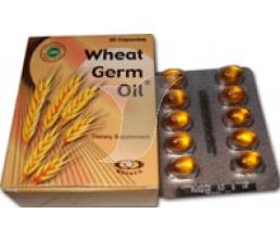 Photo of ويت جرم اويل المكمل الغذائي Wheat Germ Oil فيتامين هـ المضاد للأكسدة