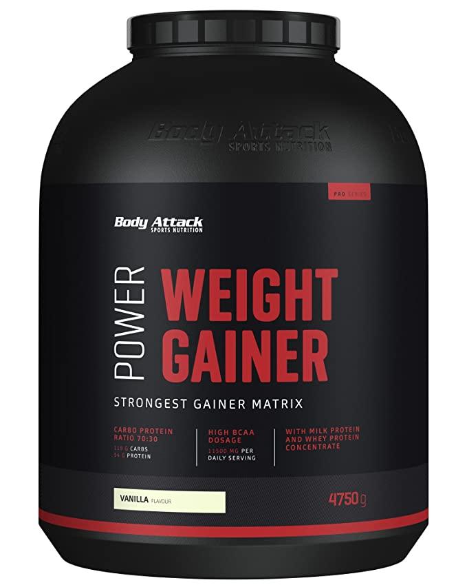 المكمل الغذائي ويت جينر لبناء الجسم وتقوية العضلات Weight Gainer