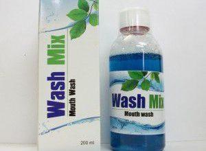 صورة غسول فم واش ميكس Wash Mix محلول مطهر مضاد لالتهابات الفم واللثة