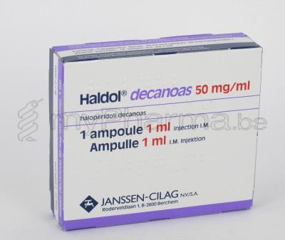 امبولات هالدول ديكانواس لعلاج انفصام الشخصية و مضاد للذهان HALDOL DECANOAS
