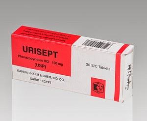 اقراص يوريسبت لعلاج التهابات الجهاز البولي ومسكن للآلام Urisept