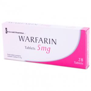 اقراص وارفارين Warfarin مضاد لتجلط الدم وعلاج امراض الانصمام الخثاري