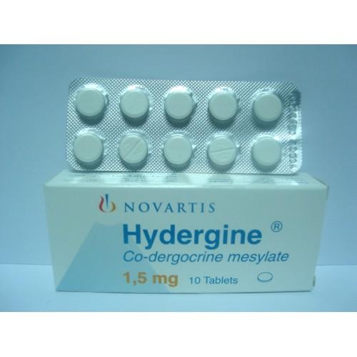 اقراص هيديرجين Hyedrgine للتخفيف من اعراض انخفاض القدرات العقلية لدي كبار السن