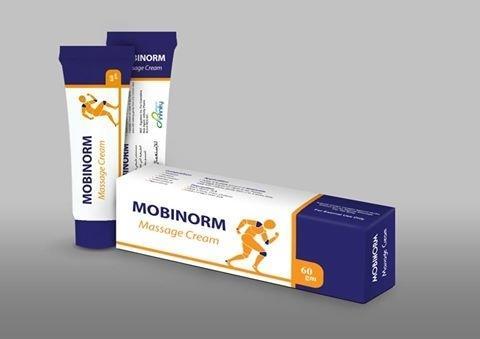 موبينورم كريم مساج MOBINORM مضاد للالتهابات لعلاج التهاب المفاصل