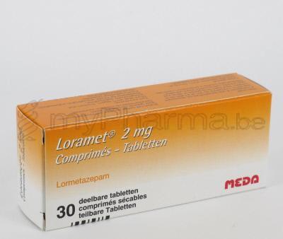 حبوب لوراميت loramet لعلاج الارق والقلق والاضطرابات العصبيه