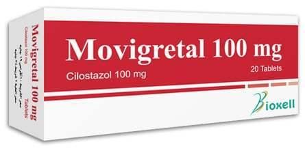 اقراص موفيجريتال لعلاج اعراض العرج المتقطع والوقاية من تكون الجلطات Movigretal