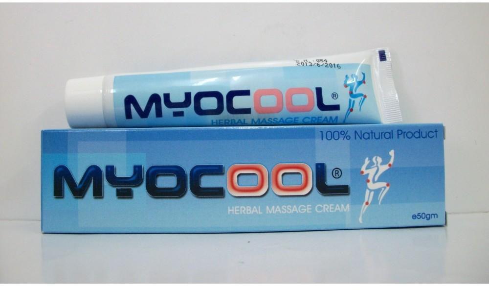 كريم ميوكول Myocool لعلاج آلام الظهر و المفاصل و تسكين تيبس العضلات