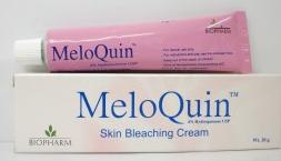 كريم ميلوكين Meloquin لتفتيح البشرة والبقع الداكنة وتفتيح المناطق الحساسة
