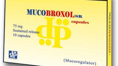 Photo of كبسولات ميوكوبروكسول إس آر مذيب للبلغم ومهدئ للكحة MUCOBROXOL SR