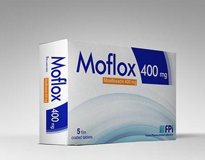 اقراص موفلوكس Moflox مضاد للبكتيريا لعلاج الالتهابات البكتيرية والتهابات الجلد والانسجة