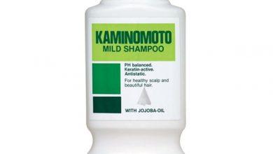 Photo of شامبو كامينوموتو بزيت الجوجوبا لشعر صحي وكثيف Kaminomoto Mild Shampoo